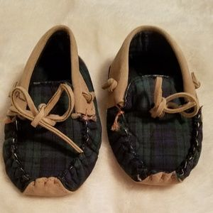 Other - 2T leather/suede moccasin